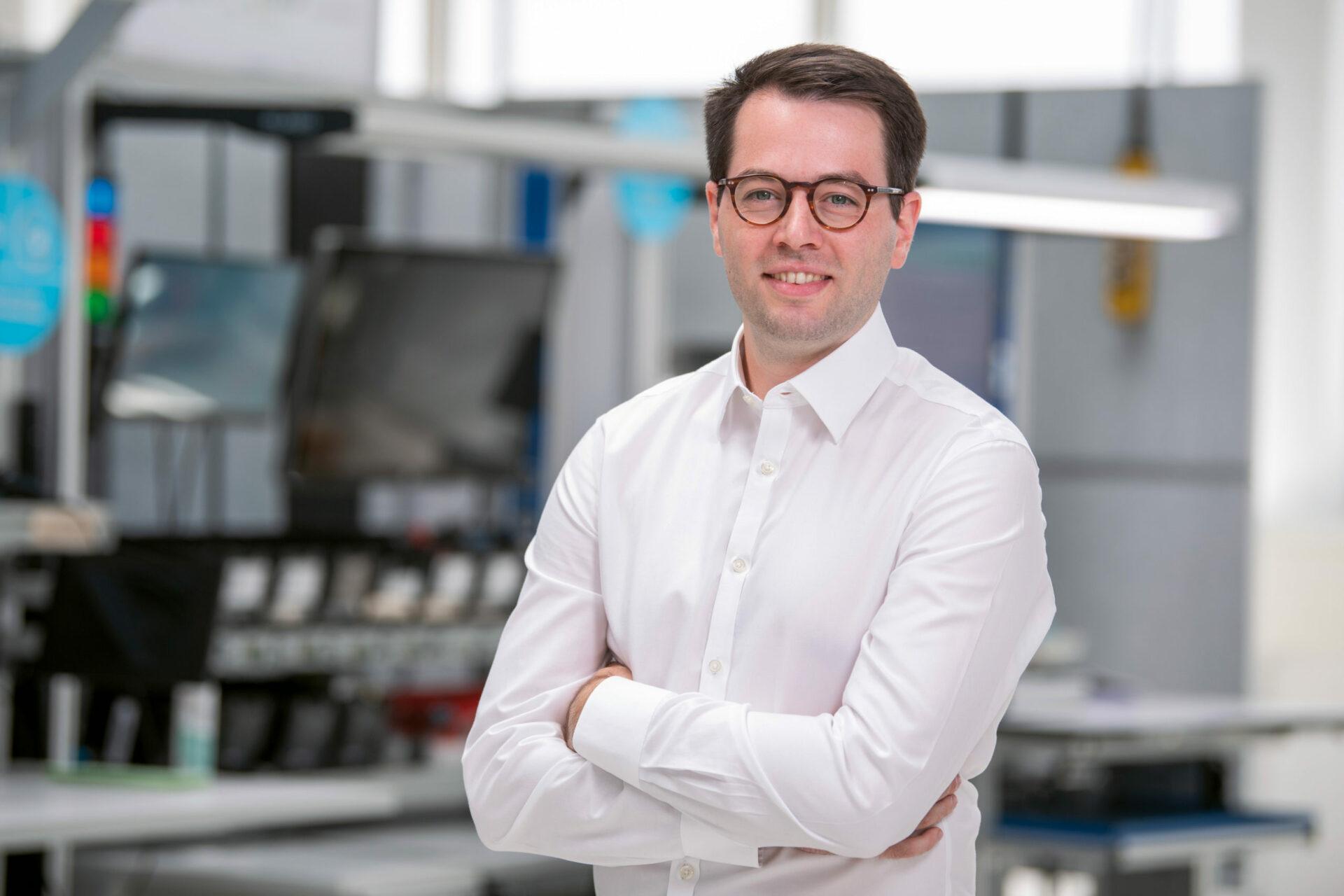 Portrait Simon Schumacher