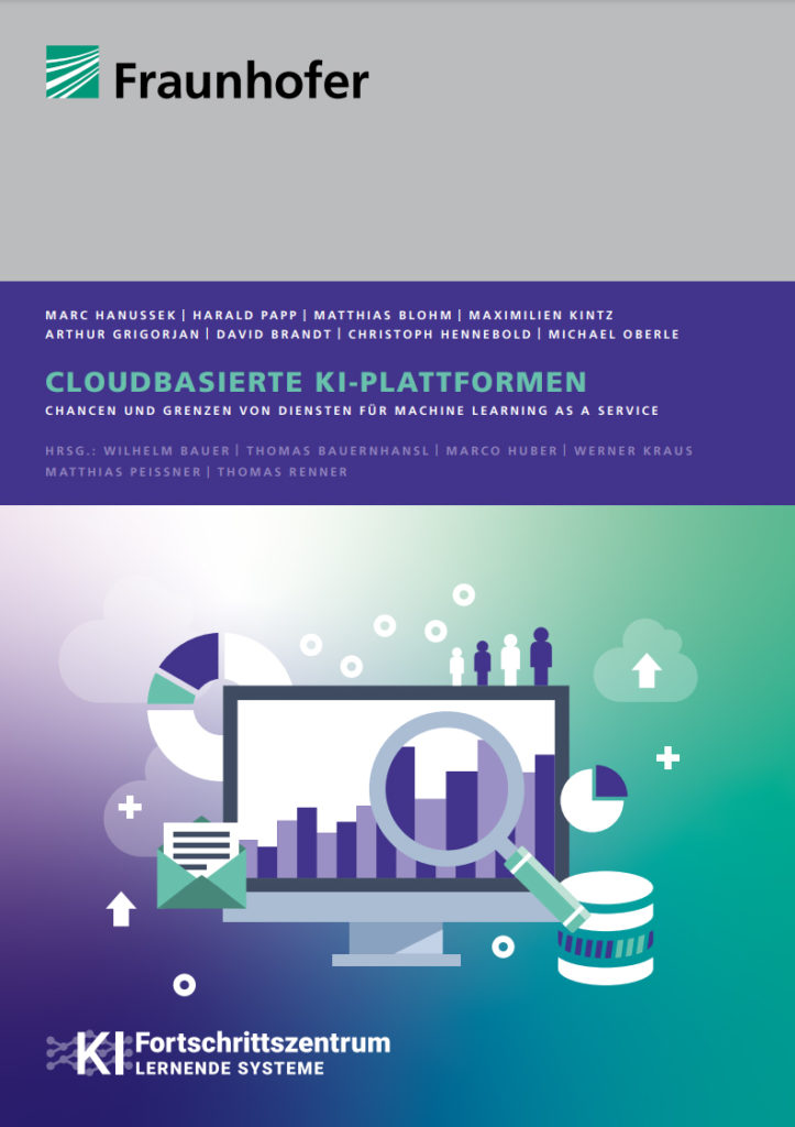 Cover der Studie KI-Plattform