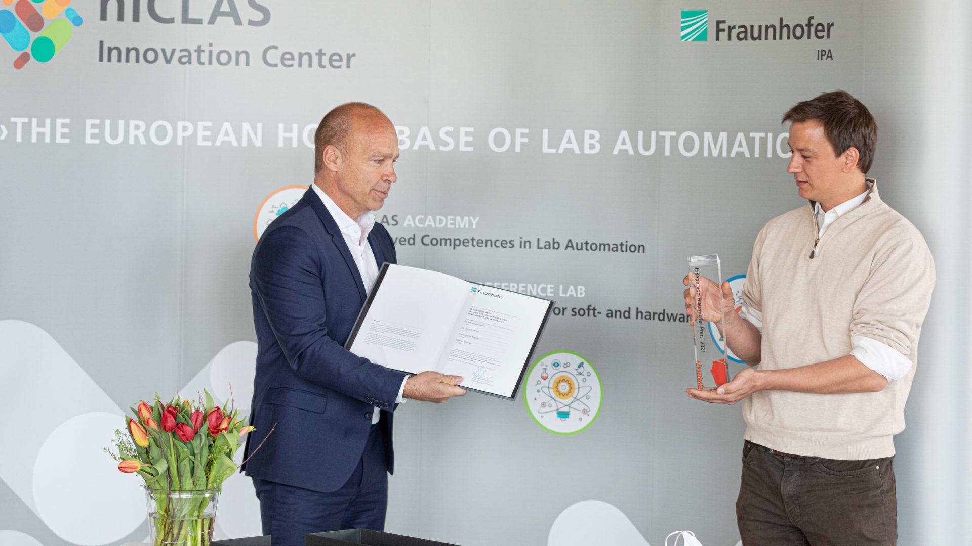 Martin Thoma erhält Fraunhofer-Preis