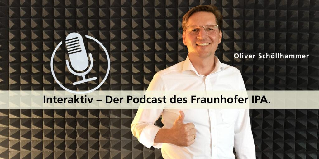 Oliver Schöllhammer als Talkgast im Podcast Interaktiv